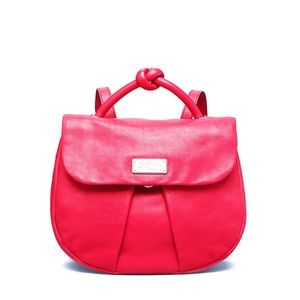Marc Jacobs Marchive Leather Backpack Rasberries